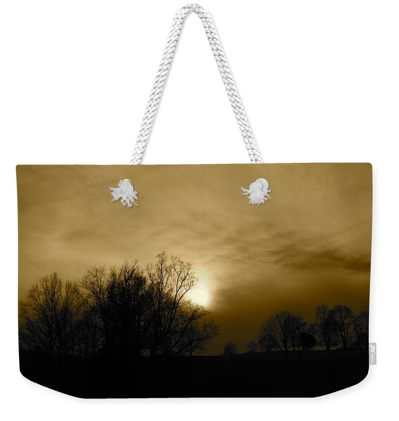 Sunset Weekender Tote Bag featuring the photograph Sunset 2 by Kume Bryant