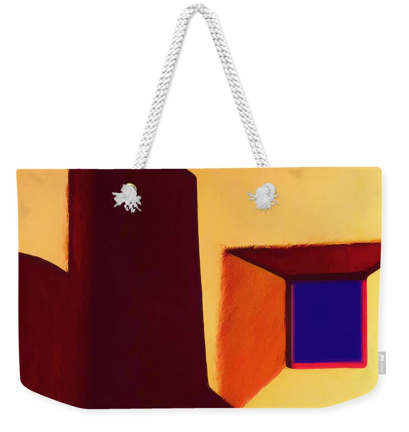 Sun Weekender Tote Bag featuring the photograph Sunset Near The Opera by Terry Fiala