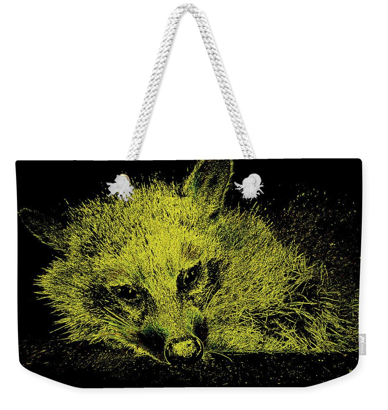 Animal Weekender Tote Bag featuring the photograph Sunshaded by Art Dingo