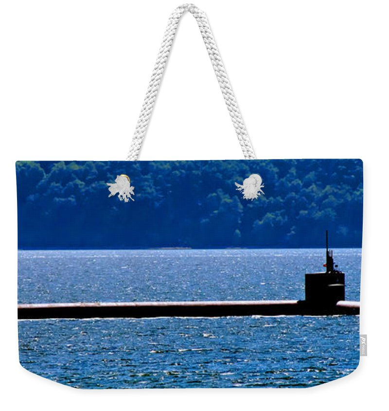 Submarine Weekender Tote Bag featuring the photograph Super Sub by Tap On Photo