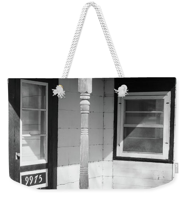 Barn Weekender Tote Bag featuring the photograph Support System by Guy Whiteley