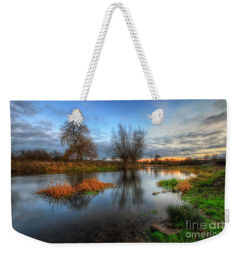 Hdr Weekender Tote Bag featuring the photograph Swampy 2.0 by Yhun Suarez