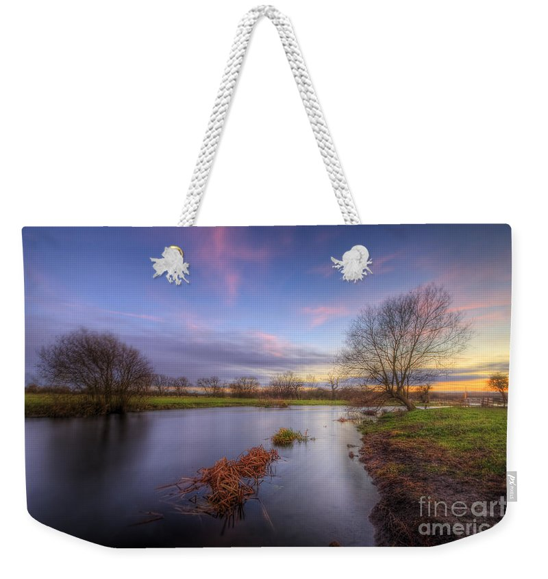 Hdr Weekender Tote Bag featuring the photograph Swampy 3.0 by Yhun Suarez