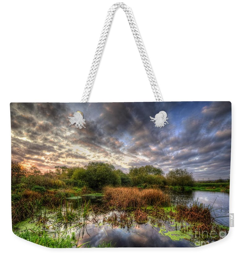 Hdr Weekender Tote Bag featuring the photograph Swampy by Yhun Suarez