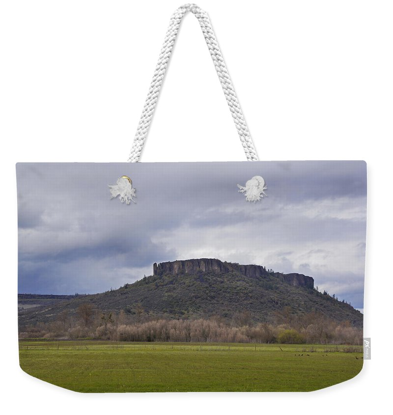 Tabletop Weekender Tote Bag featuring the photograph Tabletop by Mick Anderson