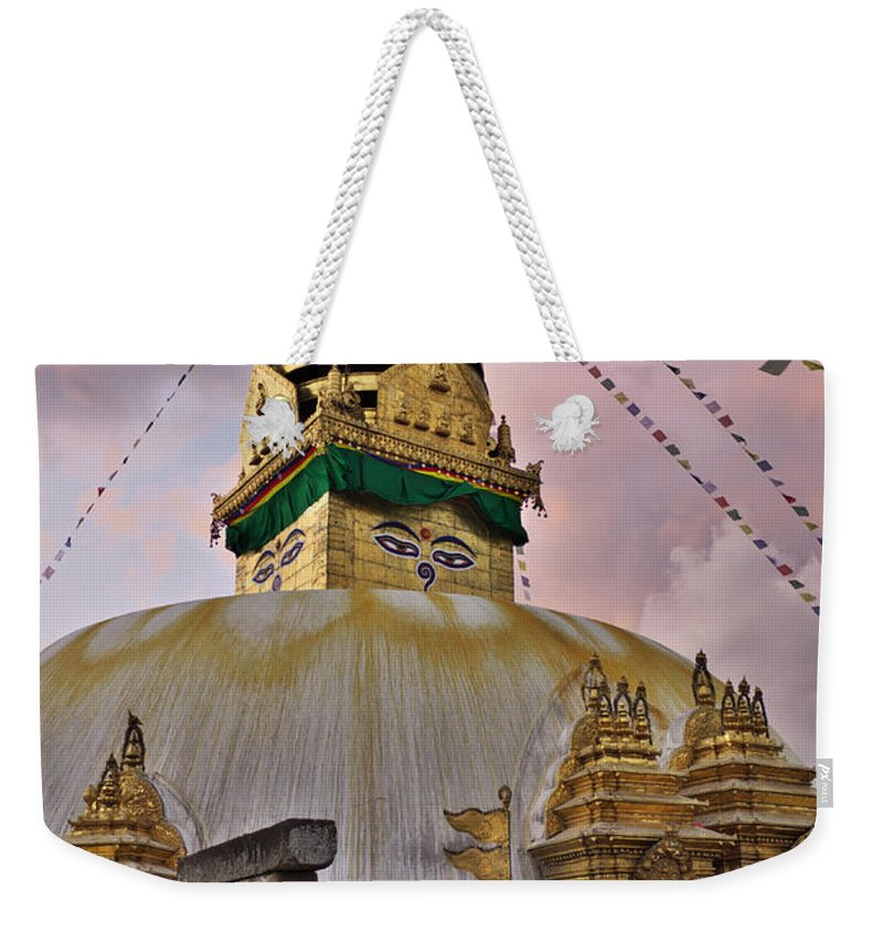 Temple Weekender Tote Bag featuring the photograph Temple by Ivan Slosar
