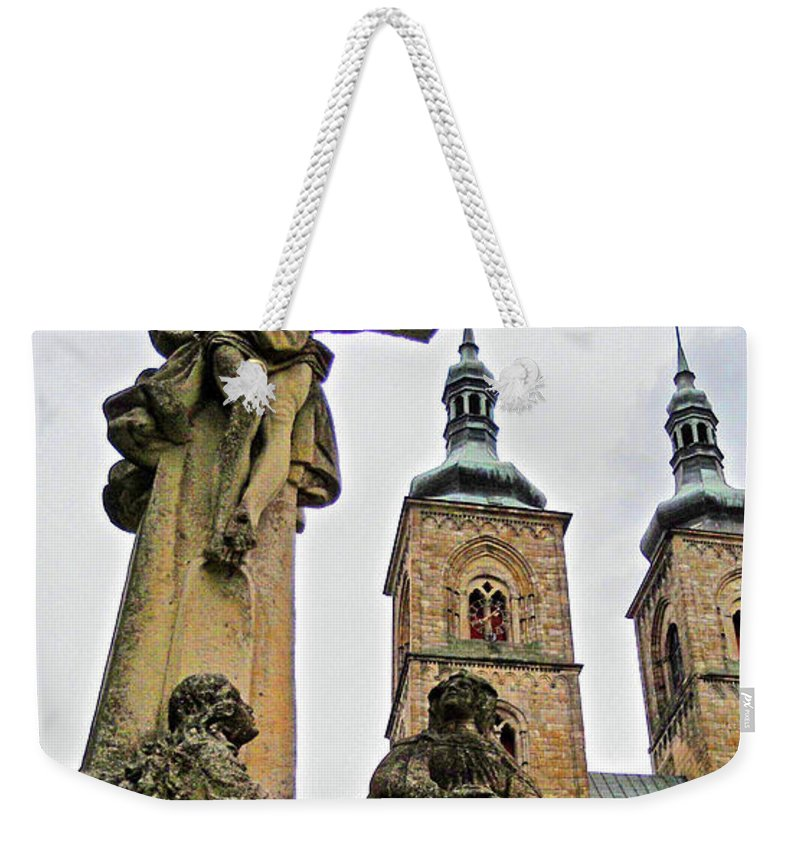 Europe Weekender Tote Bag featuring the photograph Tepla Monastery - Czech Republic by Juergen Weiss