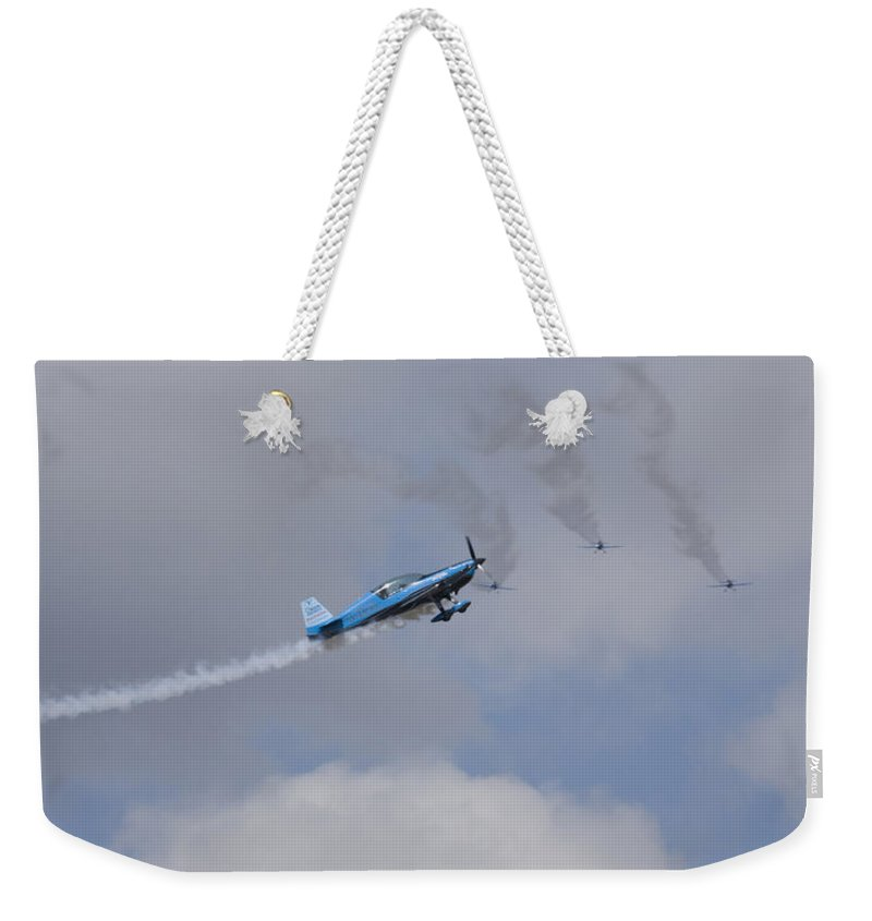 Blades Weekender Tote Bag featuring the photograph The Blades by Ian Middleton