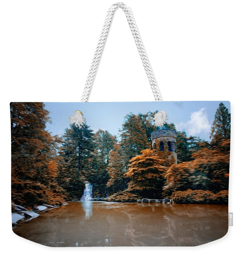 The Castle At Longwood Gardens Weekender Tote Bag featuring the photograph The Castle At Longwood Gardens by Bill Cannon