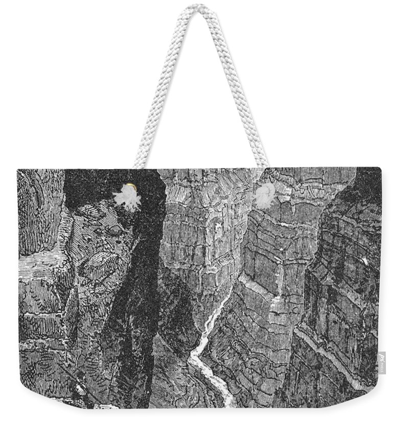 19th Century Weekender Tote Bag featuring the photograph The Colorado River by Granger
