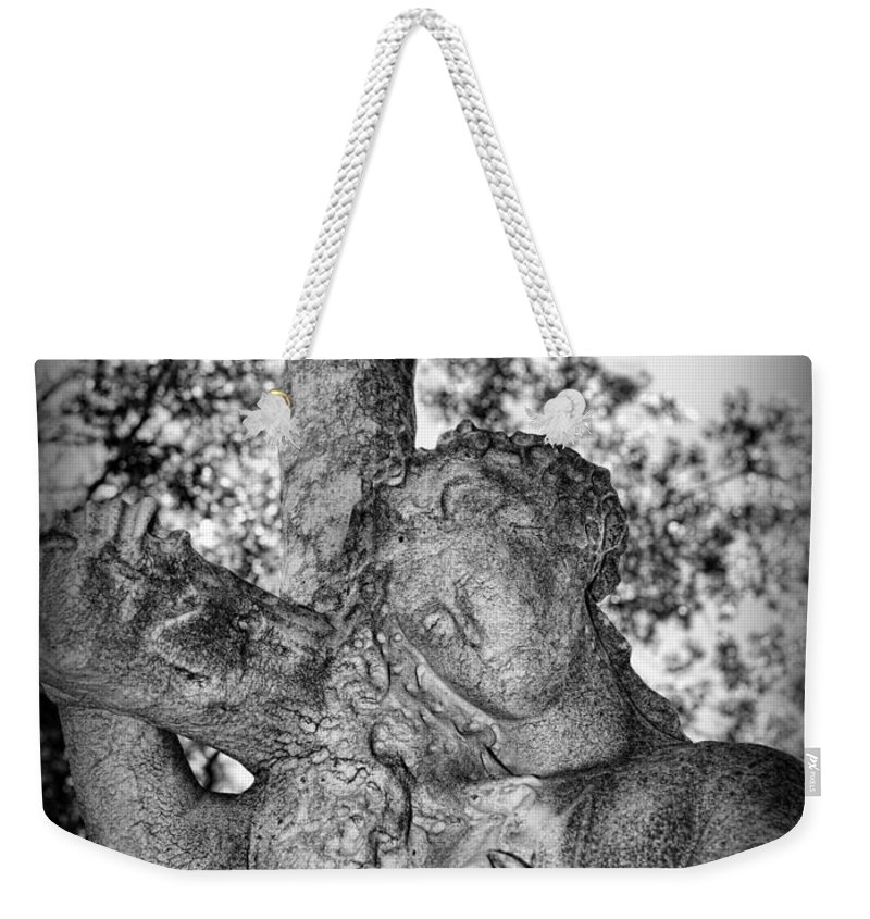The Cross I Bear Weekender Tote Bag featuring the photograph The Cross I Bear by Paul Ward