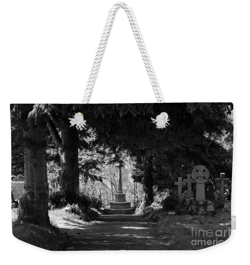 Landscape Weekender Tote Bag featuring the photograph The End by Brian Roscorla