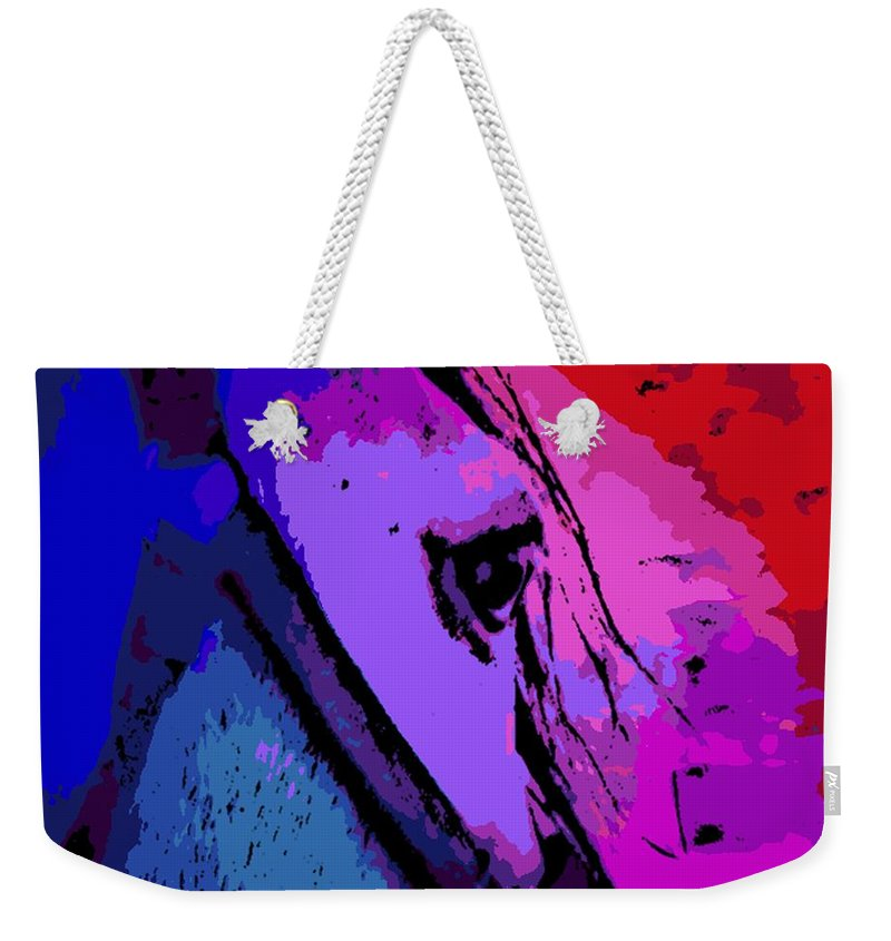 Glance Weekender Tote Bag featuring the photograph the Glance by George Pedro
