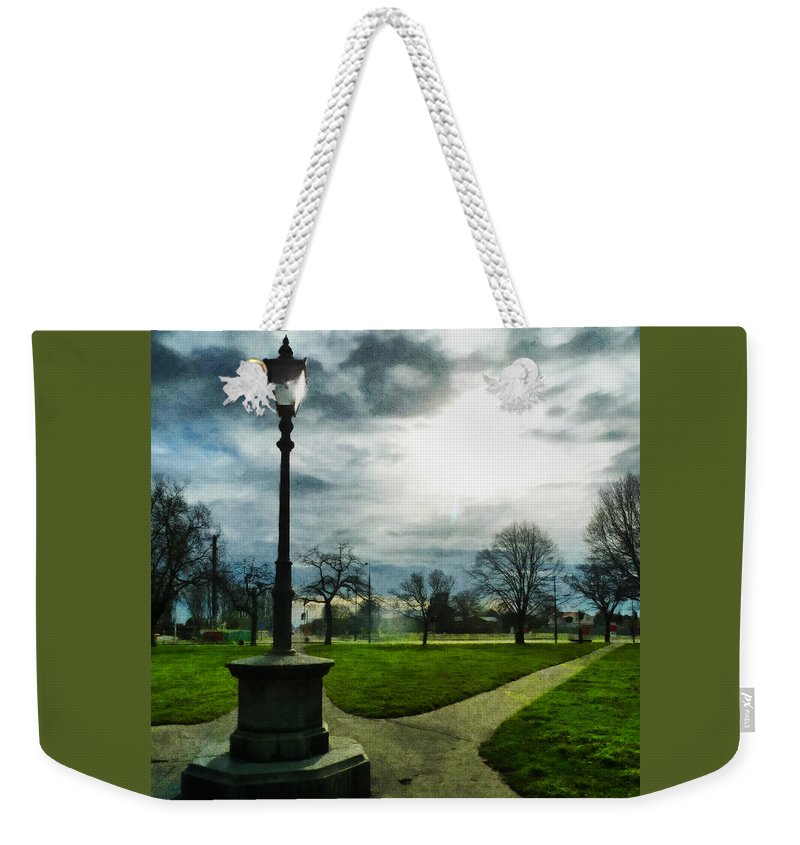 Light Weekender Tote Bag featuring the photograph The Light Of A Winter's Day by Steve Taylor