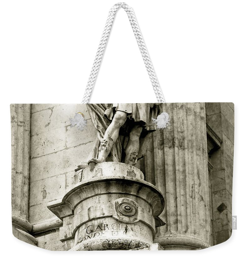 Stone Weekender Tote Bag featuring the photograph The Messenger by Syed Aqueel