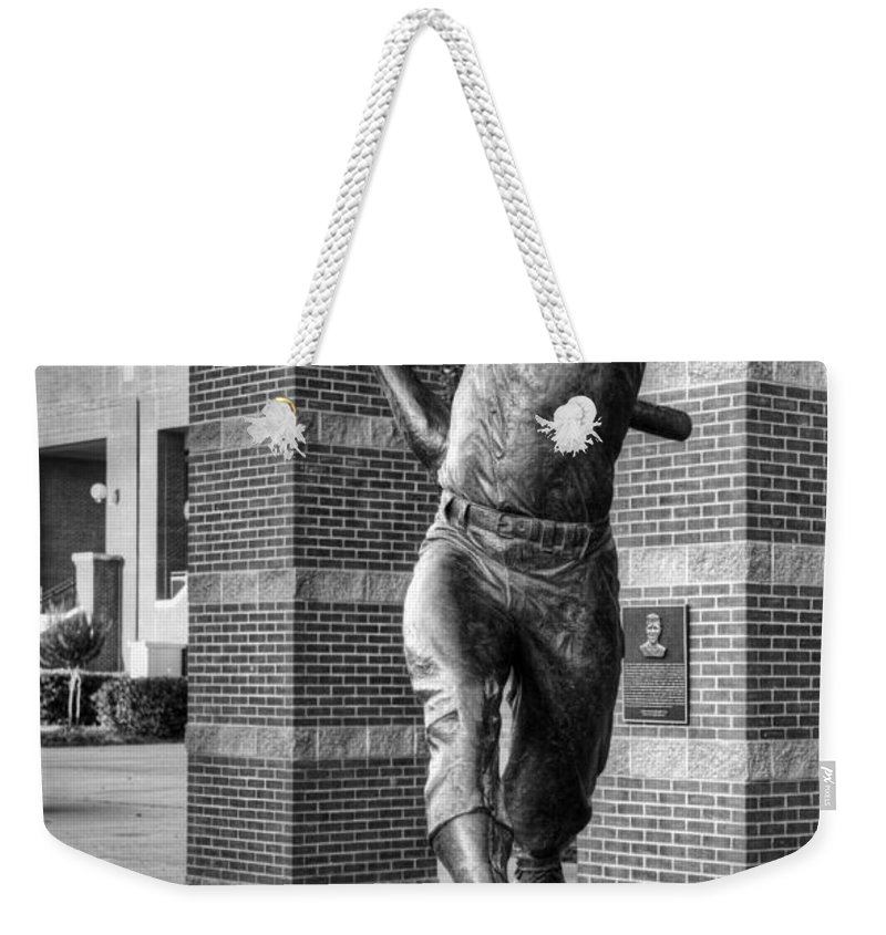 Mickey Weekender Tote Bag featuring the photograph The Mick by Ricky Barnard