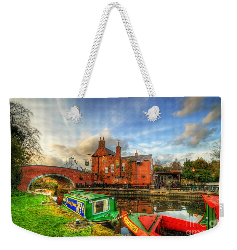 Art Weekender Tote Bag featuring the photograph The Navigation by Yhun Suarez