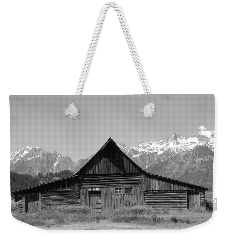 Barn Weekender Tote Bag featuring the photograph The Old Barn by Dany Lison