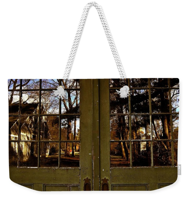 Groton School Weekender Tote Bag featuring the photograph The Reflection by Marysue Ryan