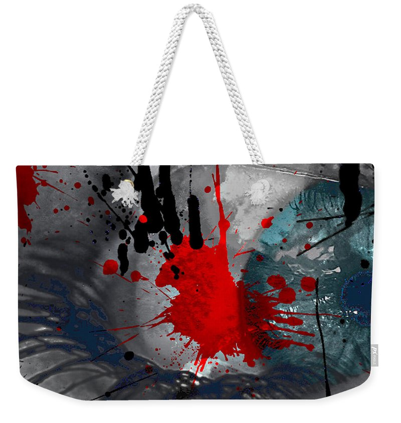 Jerry Cordeiro Photographs Weekender Tote Bag featuring the photograph The Sour Sting by The Artist Project