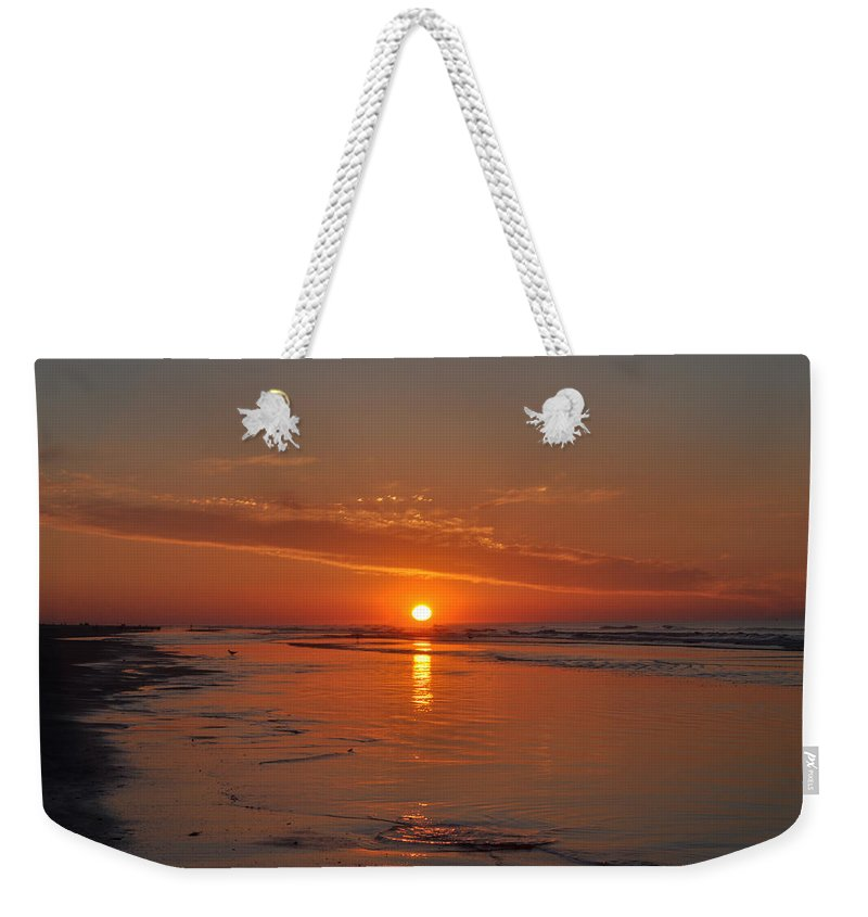 The Sun Also Rises Weekender Tote Bag featuring the photograph The Sun Also Rises by Bill Cannon