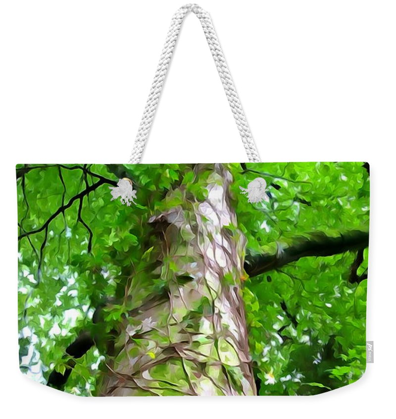 Tree Weekender Tote Bag featuring the photograph The Tree by Charlie and Norma Brock