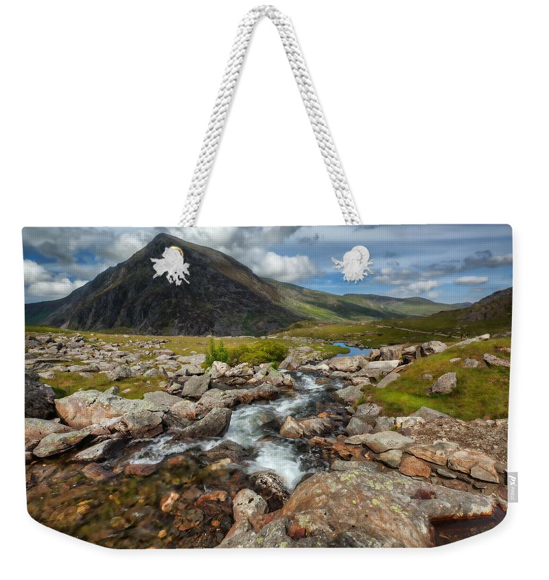 Flowers Weekender Tote Bag featuring the photograph The Valley by Adrian Evans
