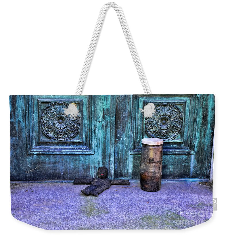 Voodoo Doll Weekender Tote Bag featuring the photograph The Voodoo Doll by Paul Ward