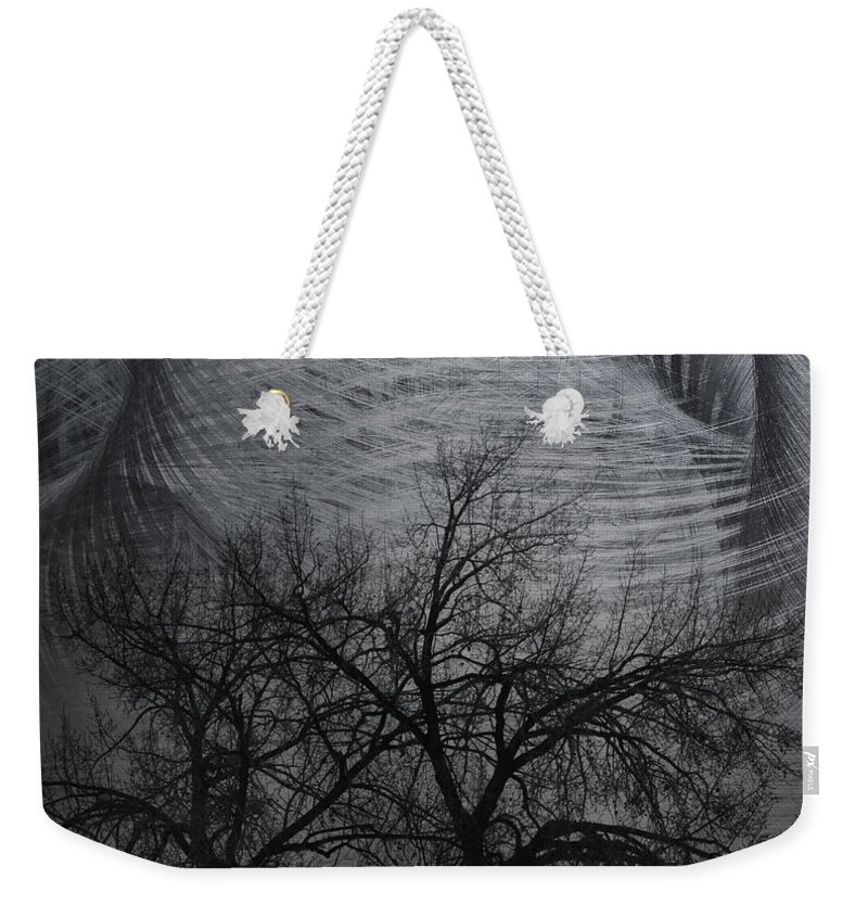Window Framed Prints Weekender Tote Bag featuring the photograph The Wind And Its Cuts by The Artist Project