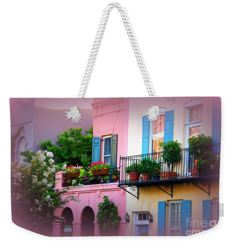 Charleston Weekender Tote Bag featuring the photograph This Is Charleston South Carolina by Susanne Van Hulst