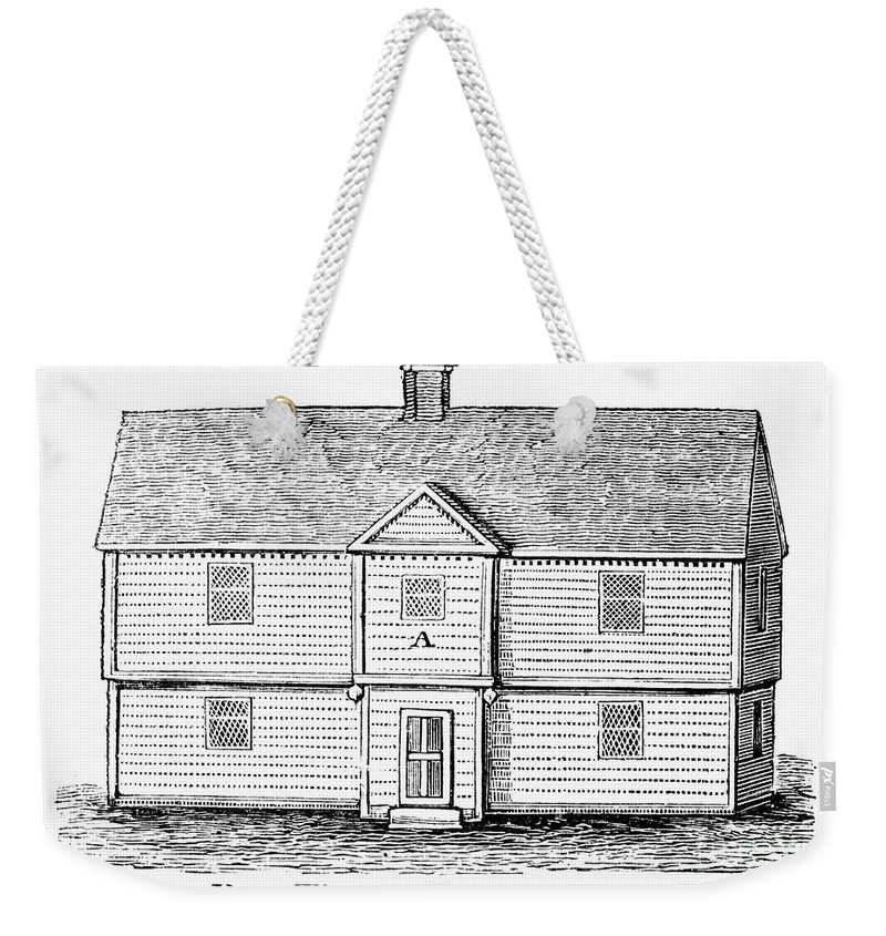 17th Century Weekender Tote Bag featuring the photograph Thomas Hooker (1586-1647) by Granger