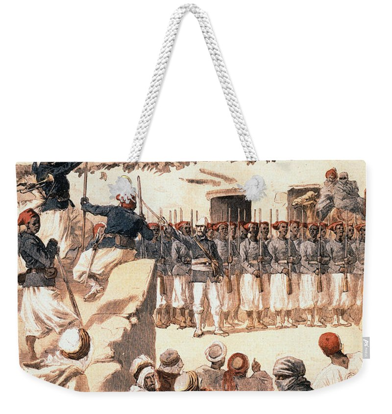 1894 Weekender Tote Bag featuring the photograph Timbuktu, 1894 by Granger