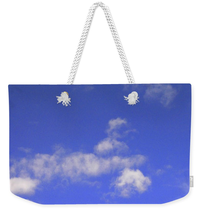 Tree Weekender Tote Bag featuring the photograph Tiny Tree Silhouette by Mike Nellums