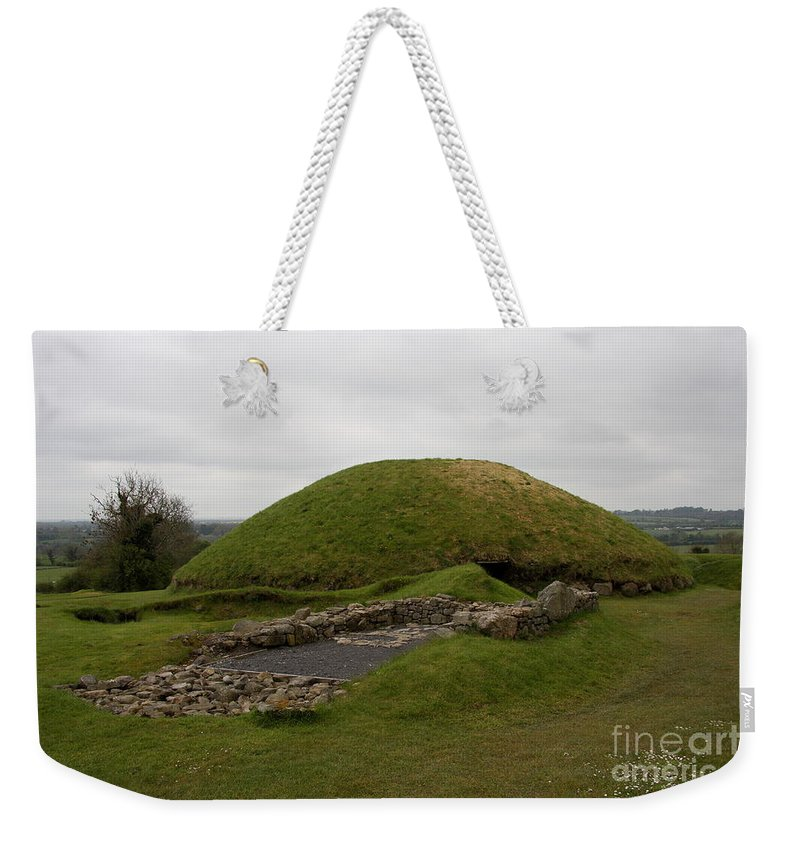 Tomb Weekender Tote Bag featuring the photograph Tomb - Knowth - Ireland by Christiane Schulze Art And Photography