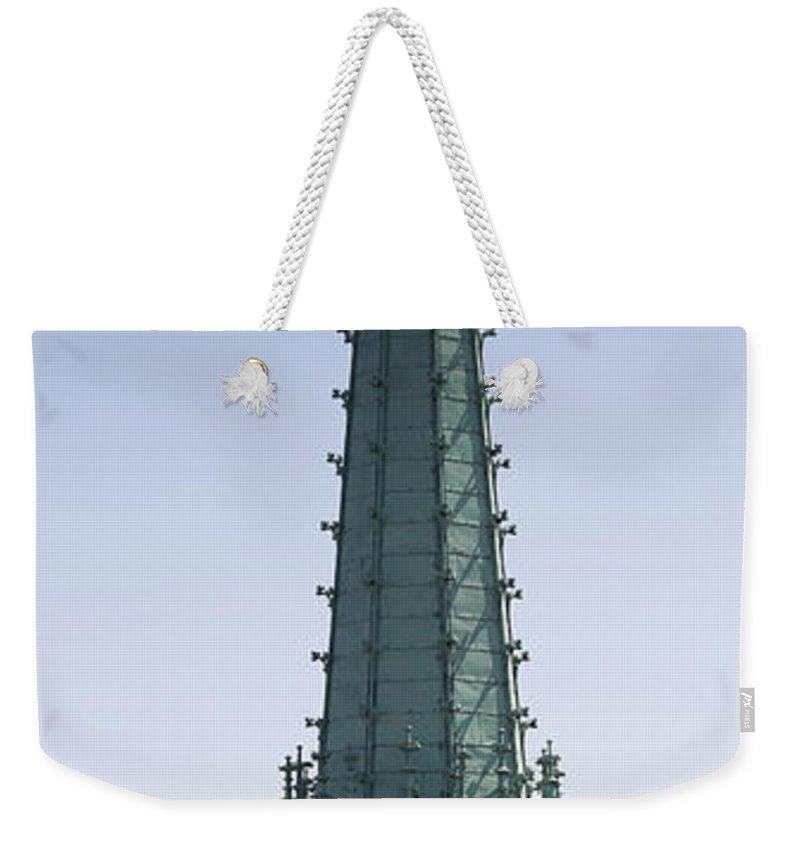 Pinnacle Weekender Tote Bag featuring the photograph Tower Of Cathedral by Michal Boubin