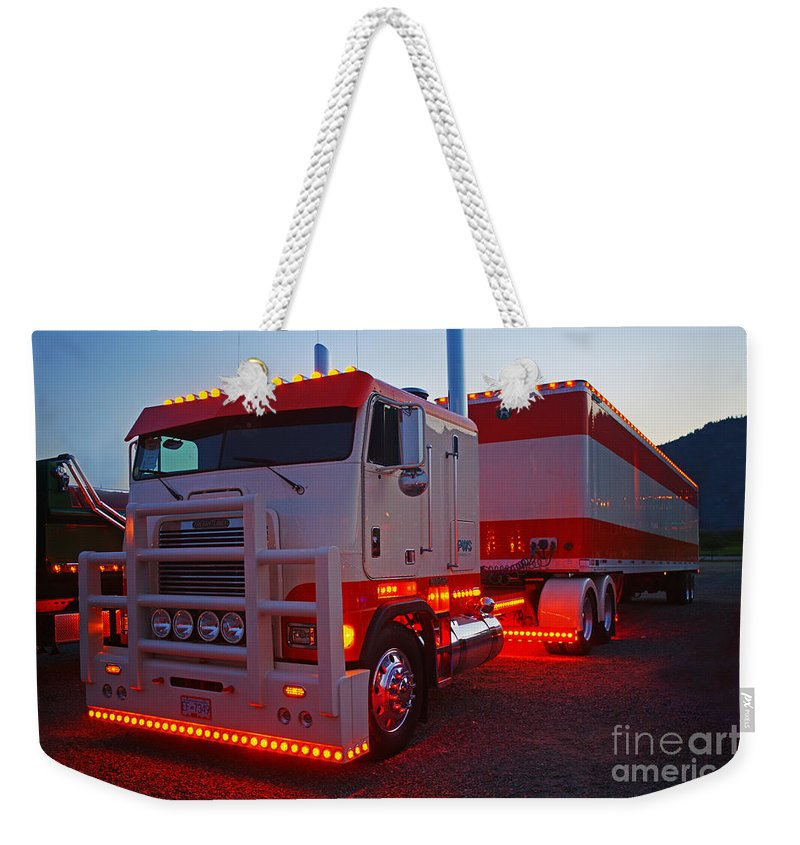 Trucks Weekender Tote Bag featuring the photograph Tr0419-12 by Randy Harris