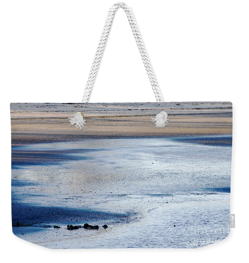 Tranquil Weekender Tote Bag featuring the photograph Tranquility by Carol F Austin