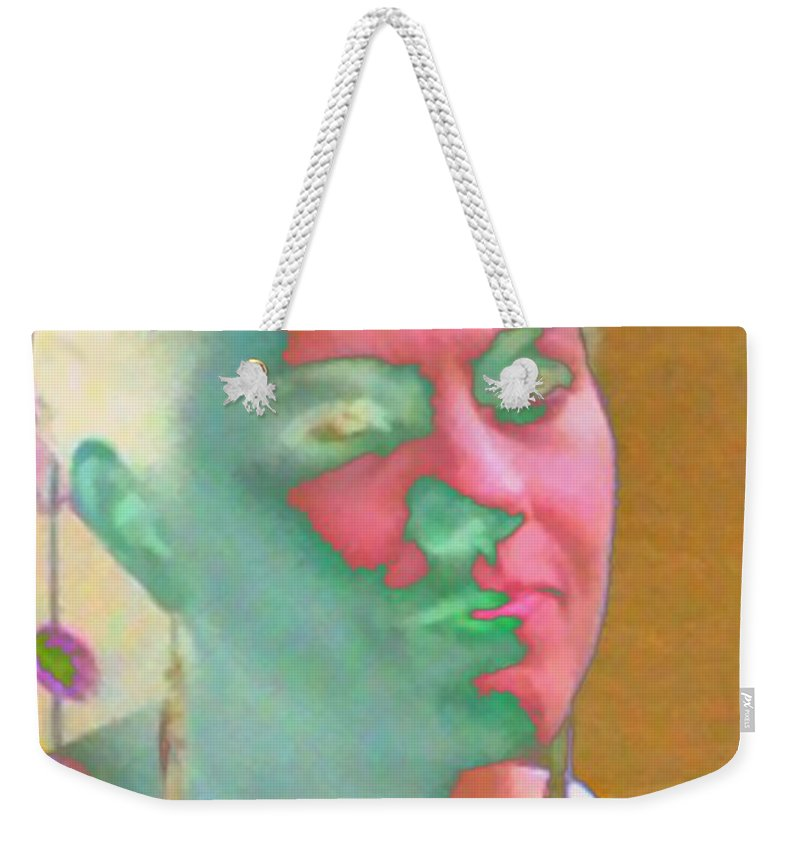 Pastel Weekender Tote Bag featuring the photograph Transparency Personified by Angela L Walker