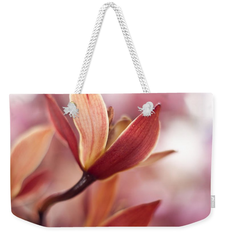 Tropical Weekender Tote Bag featuring the photograph Tropical Grace by Mike Reid