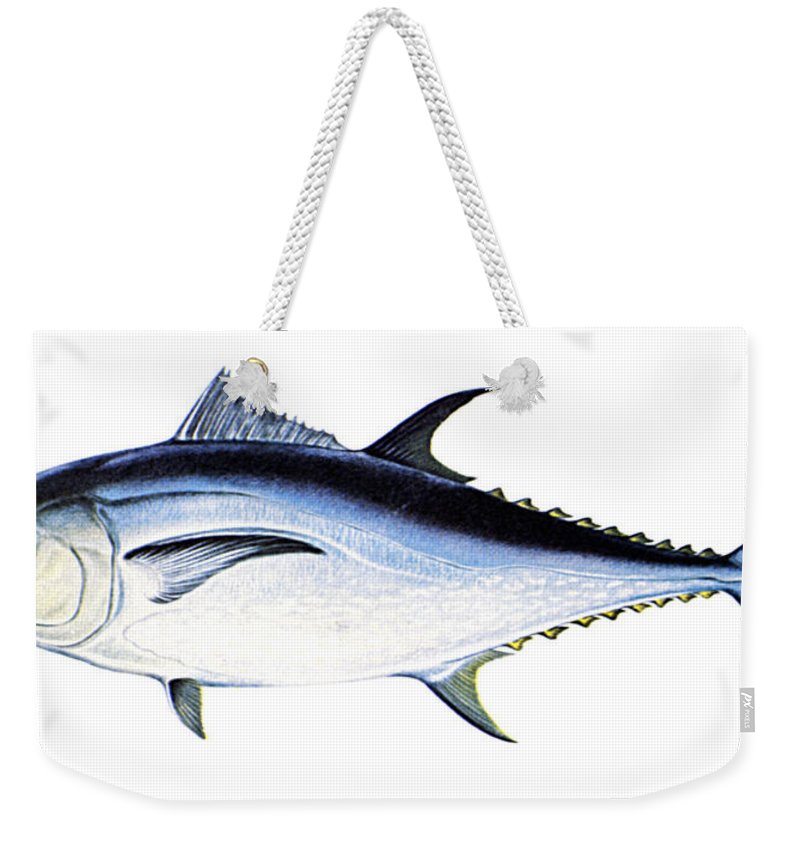 Biology Weekender Tote Bag featuring the photograph Tuna by Granger
