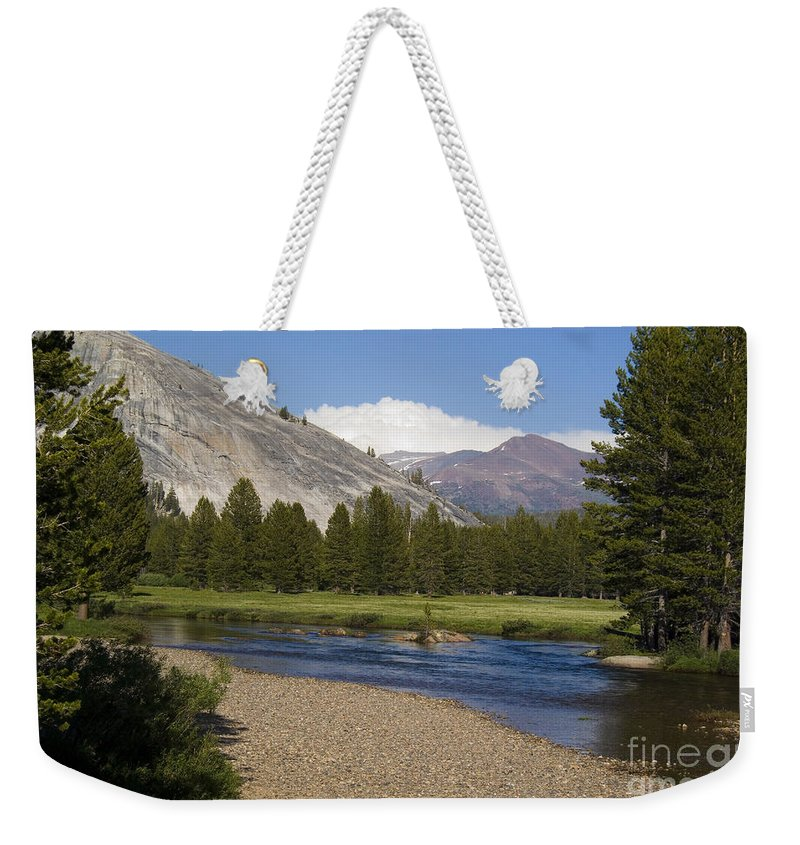 Forest Weekender Tote Bag featuring the photograph Tuolumne Meadow by Jim And Emily Bush