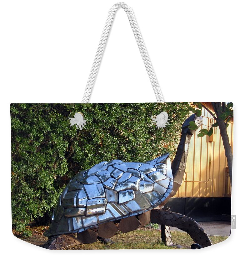 Turtle Weekender Tote Bag featuring the photograph Turtle by Amy Hosp