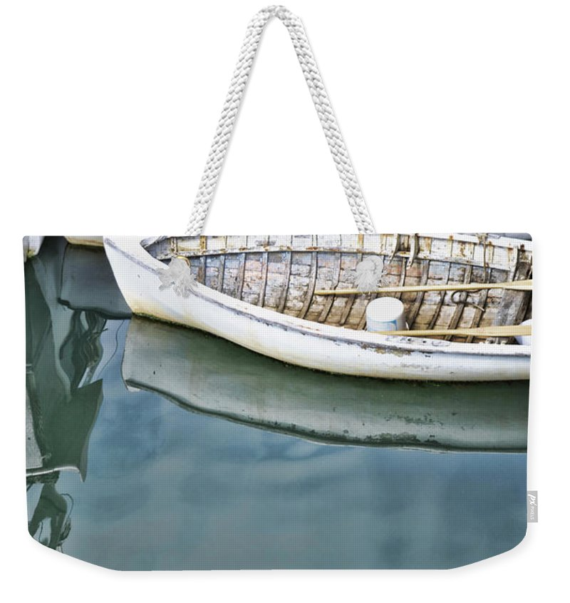 New Brunswick Weekender Tote Bag featuring the photograph Twins Color by Traci Cottingham