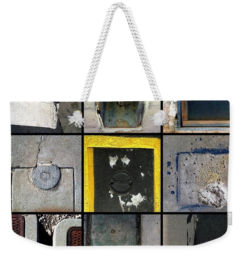 Marlene Burns Weekender Tote Bag featuring the photograph U Turns by Marlene Burns