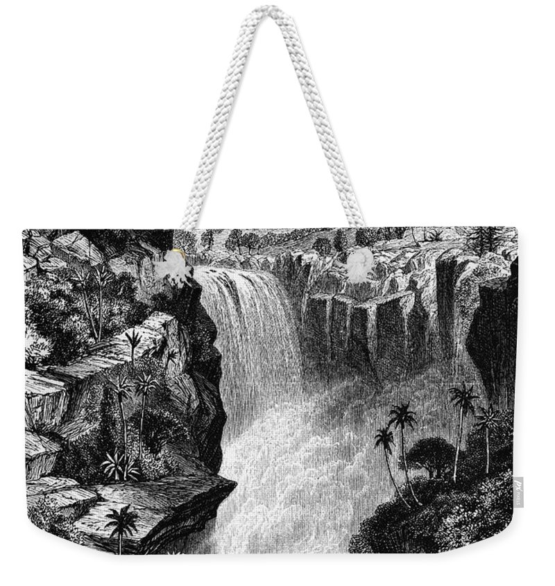 1866 Weekender Tote Bag featuring the photograph Uganda: Murchison Falls by Granger