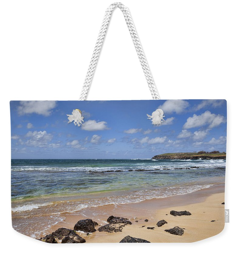 Kauai Weekender Tote Bag featuring the photograph Vacation Destination by Kelley King