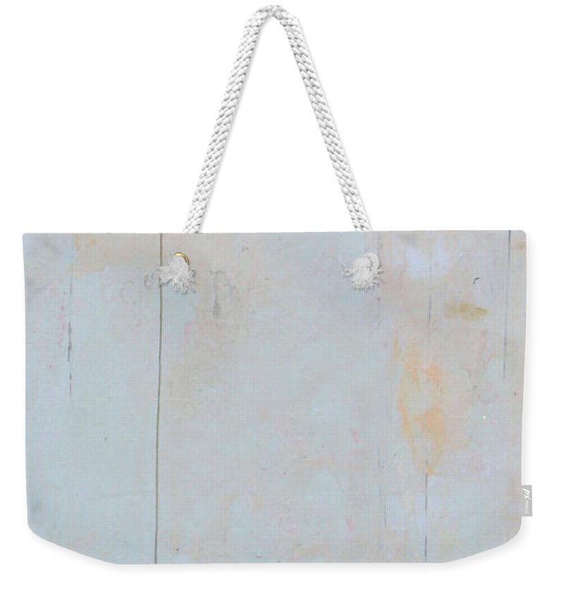 Conceptual Weekender Tote Bag featuring the painting Variations A Lark by Kathleen Grace