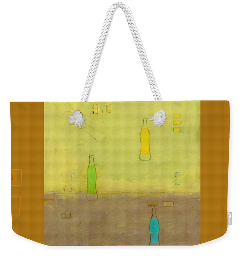 Painting Weekender Tote Bag featuring the mixed media Variations Three by Grace Art Photography