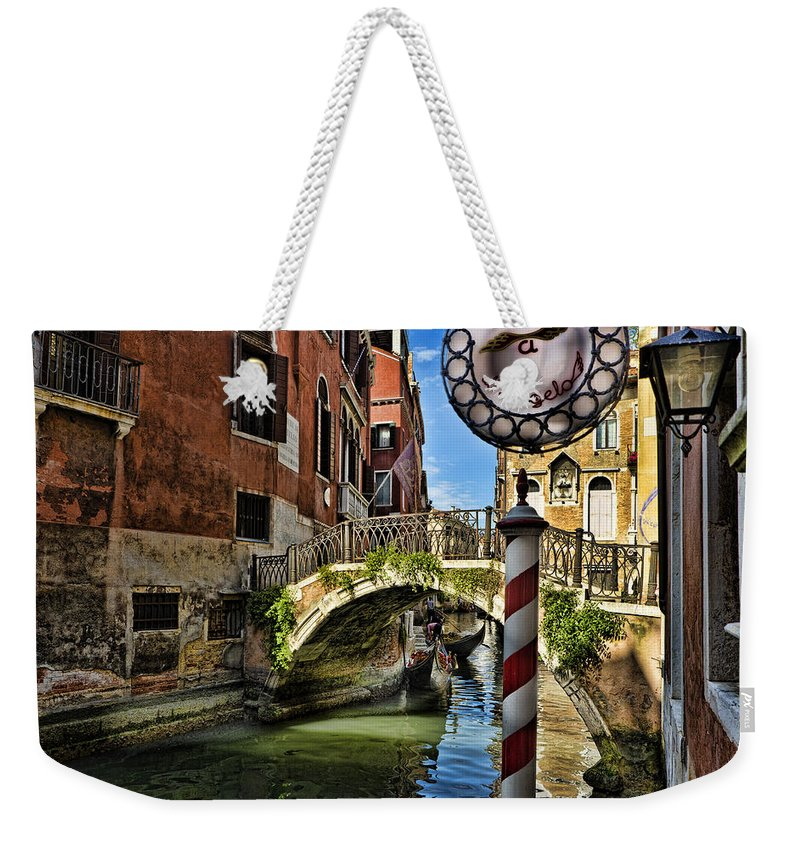 Venice Italy Weekender Tote Bag featuring the photograph Venice - Italy by Jon Berghoff