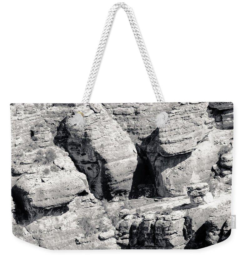 Vermilion Cliffs Weekender Tote Bag featuring the photograph Vermilion Cliffs II by Julie Niemela